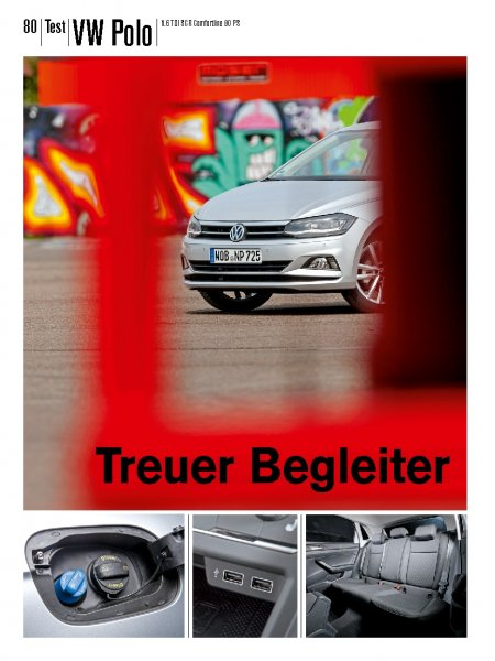 Test: VW Polo 1.6 TDI SCR Comfortline 80 PS