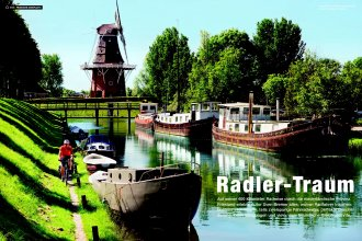 Radreise Friesland/Holland