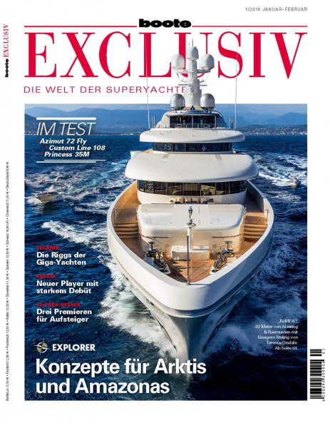BOOTE EXCLUSIV 01/2016