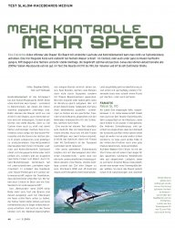 Test: Slalom-Raceboards Medium