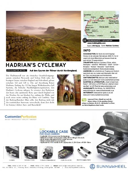England: Hadrian's Cycleway