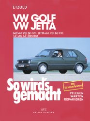 VW Golf II 9/83-9/91, Jetta 1/84-9/91