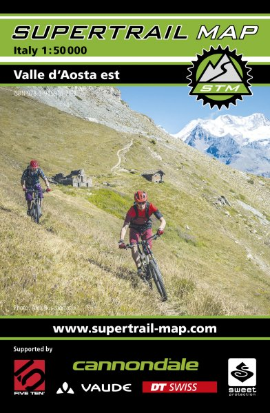 Supertrail Map Valle d`Aosta Est