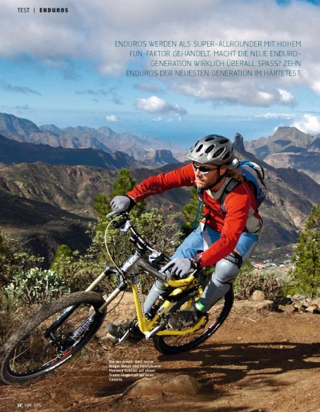 Test: Endurobikes 03/05