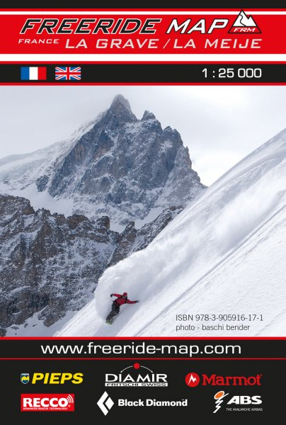 Freeride Map La Grave / La Meje