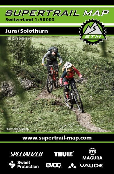 Supertrail Map Jura/Solothurn