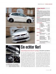 TUNING-KURZTEST Rieger Polo GTI 205 PS