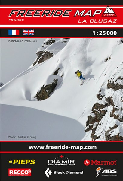 Freeride Map La Clusaz