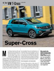Test: VW T-Cross 1.0 TSI 115 PS