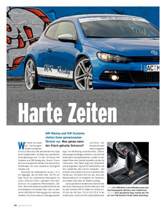 Test: MR Racing / KW-Systems Scirocco 1.4 TSI mit 194 PS