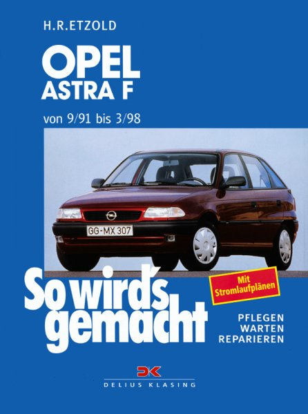 Opel Astra F 9/91 bis 3/98