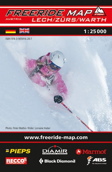 Freeride Map Lech / Zürs / Warth