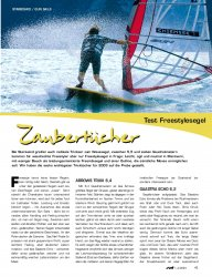 Test: Freestylesegel