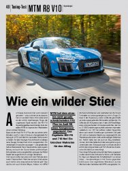 Tuning-Test: MTM R8 V10 Supercharged