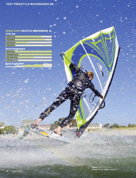 Freestyle-Waveboards 85 Liter