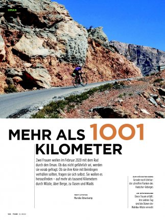 PDF: Bikepacking durch den Oman