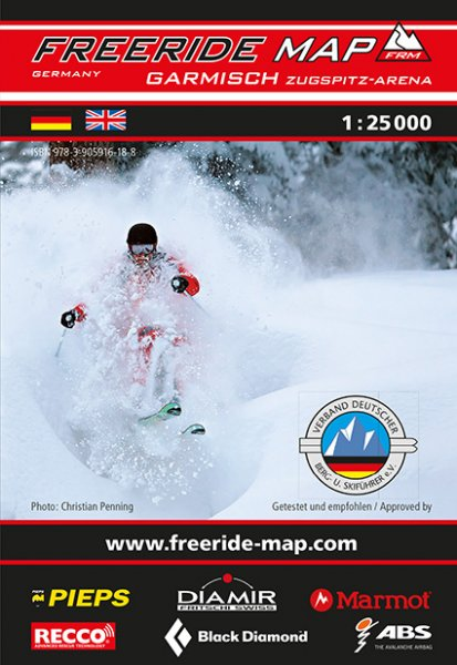 Freeride Map Garmisch / Zugspitz-Arena