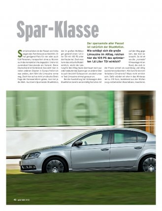 Passat BlueMotion 105 PS