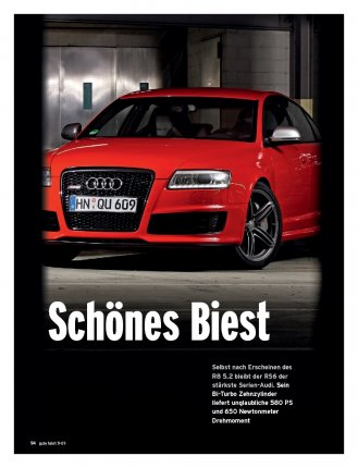 Test: RS6 mit 580 PS