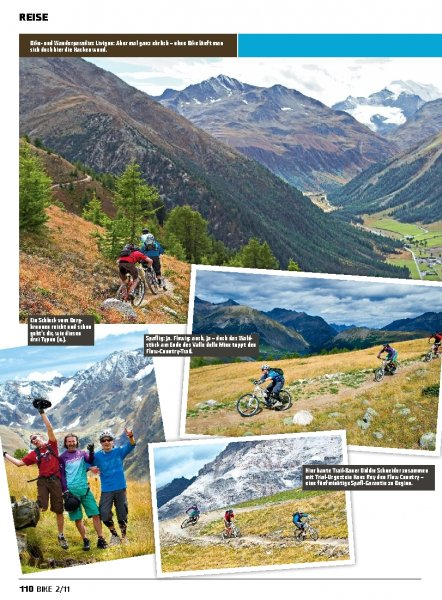 Italien: Livigno Pump-Supertrail