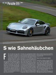 Test: Porsche 911 Turbo S