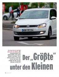Test: Polo 1.4 mit 85 PS