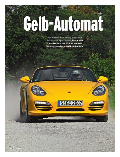 Boxster PDK mit 255 PS