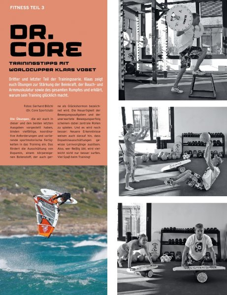 Dr. Core Training mit Klaas Voget Teil 3