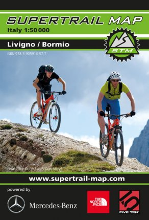 Supertrail Map Bormio / Livingo
