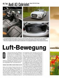 Test: Audi A3 Cabriolet Design 2.0 TDI 150 PS S-Tronic