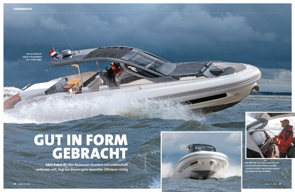 Test: Sacs Rebel 47 – Gut in Form gebracht