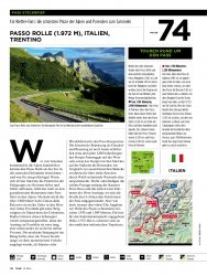 Pass-Steckbrief: Italien: Passo Rolle