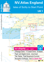 UK 1 NV. Atlas Engl. - Scilly Isles to Start Point