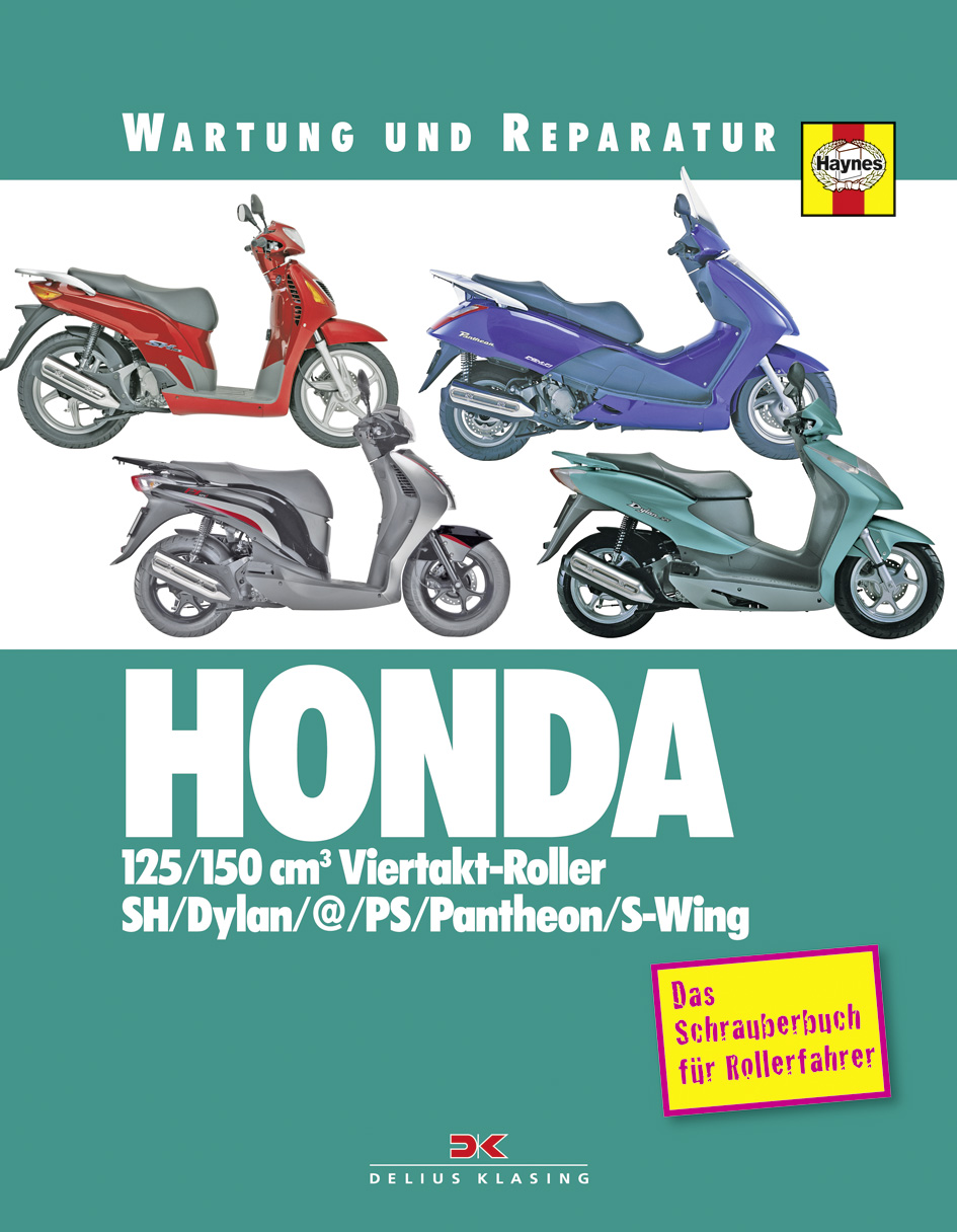 honda 125 150 cm3 viertakt roller delius klasing. Black Bedroom Furniture Sets. Home Design Ideas