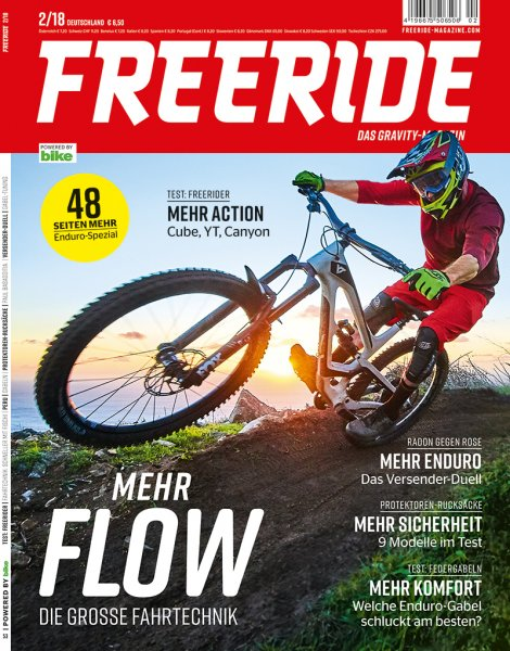 FREERIDE Open-End-Abo Print + Digital