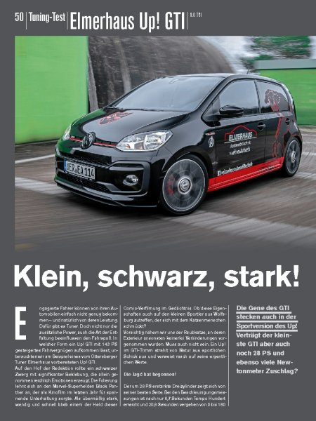 Tuning-Test: Elmerhaus Up! GTI 1.0 TSI