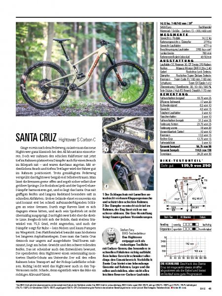 Santa Cruz Hightower S Carbon C