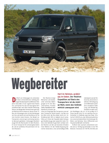 T5 Rockton Expedition 2.0 TDI 140 PS