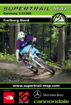Supertrail Map Freiburg Nord