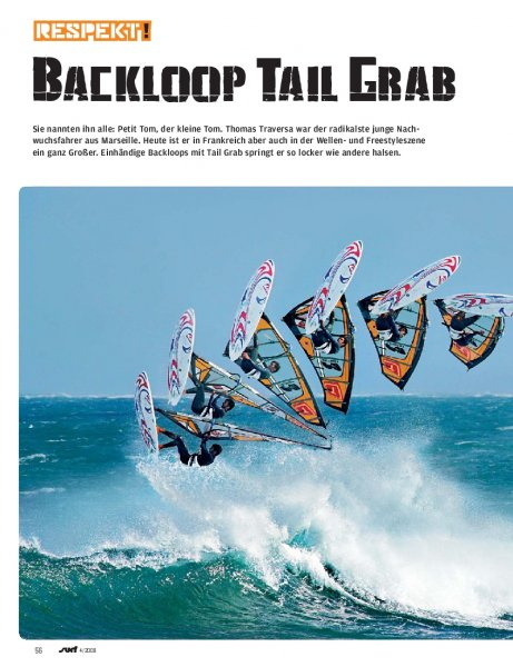Moves: Backloop Tail Grab
