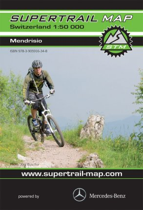 Supertrail Map Mendrisio