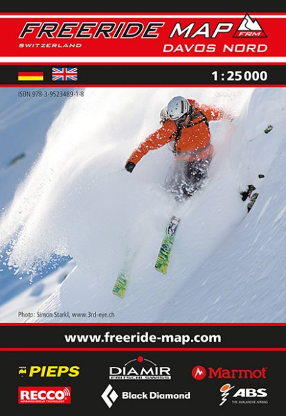 Freeride Map Davos Nord