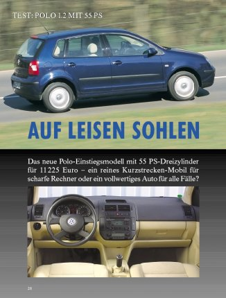 TEST: POLO 1.2 MIT 55 PS