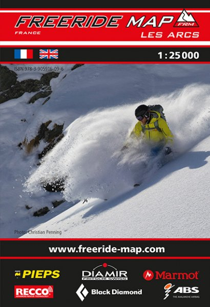 Freeride Map Les Arcs
