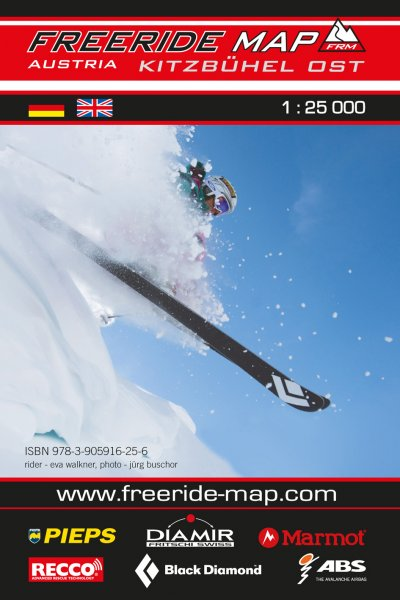 Freeride Map Kitzbühel Ost