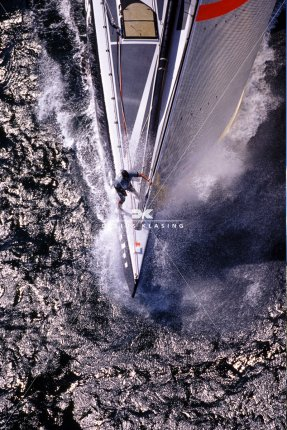 Hecht, Ready for Spi - Alinghi - America's Cup