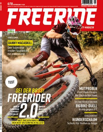 FREERIDE Open-End-Abo Print
