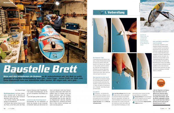 Workshop: Brettreparatur