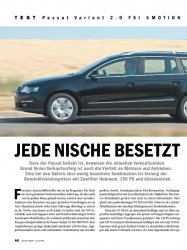 Test: Passat Variant 2.0 FSI 4 Motion