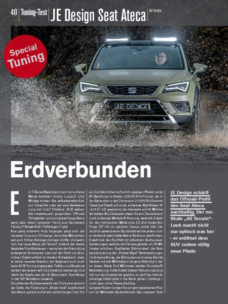Tuning-Test: JE Design Seat Ateca All Terrain